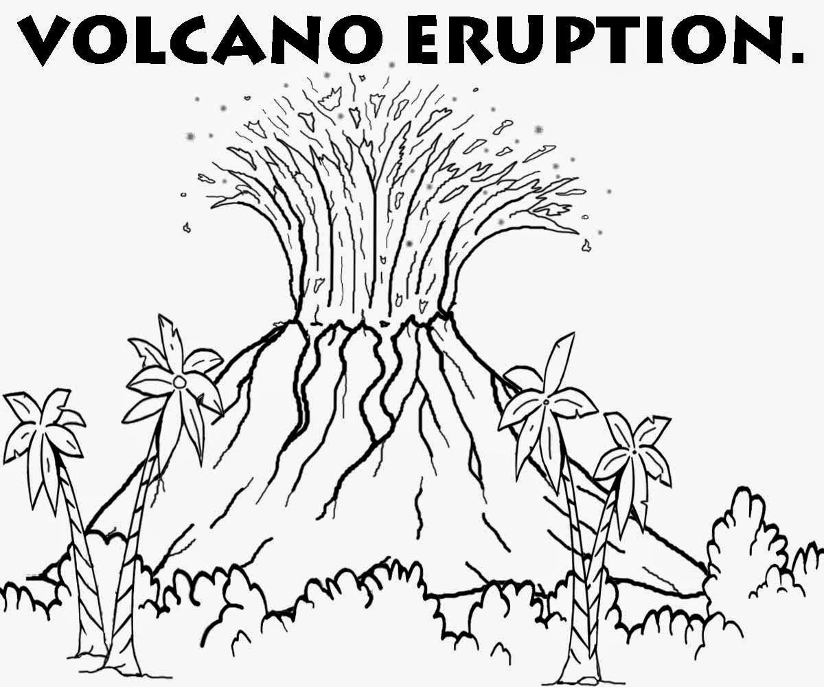 coloring sheet volcano printable volcano coloring pages coloring home sheet volcano coloring