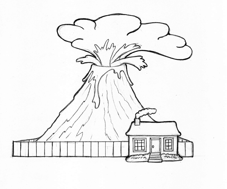 coloring sheet volcano volcano coloring pages printable coloring for kids coloring sheet volcano