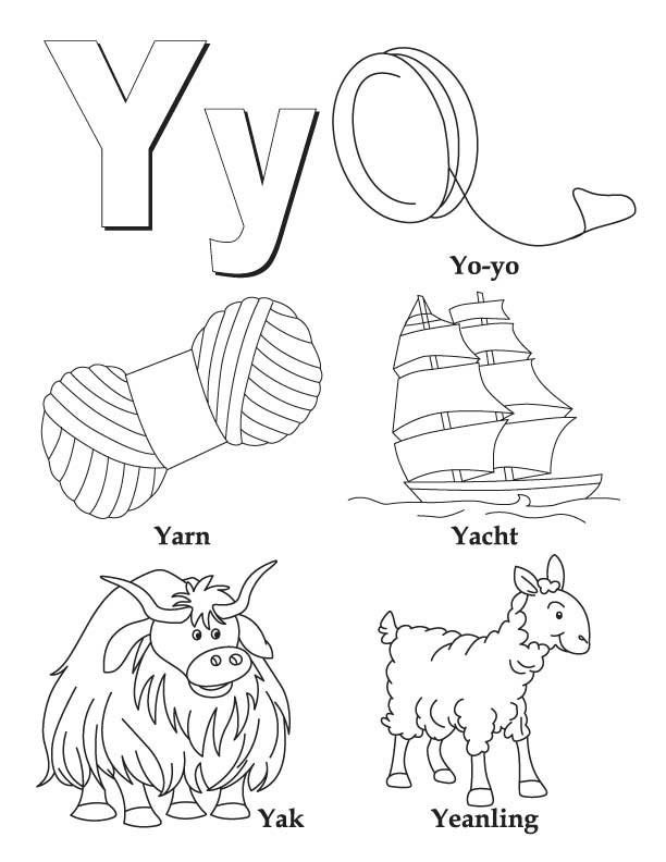 coloring sheet y high quality letter y to print for free sheet y coloring