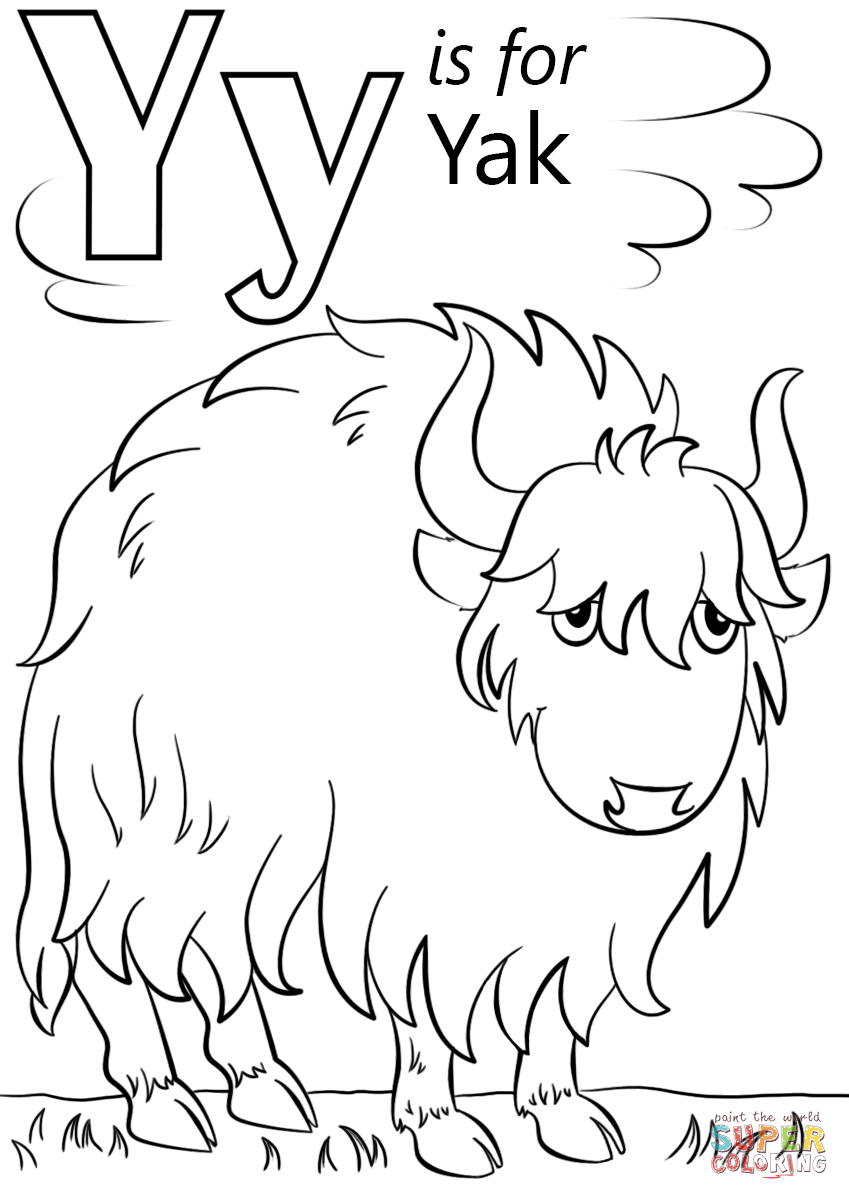 coloring sheet y letter y is for yellow coloring page free printable y sheet coloring