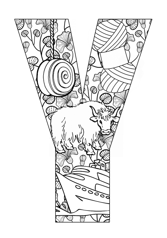 coloring sheet y letter y worksheets to print activity shelter y sheet coloring