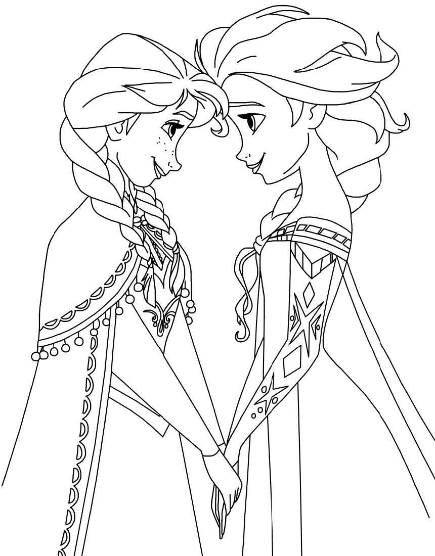 coloring sheets elsa and anna coloring k5 worksheets part 4 anna elsa and coloring sheets