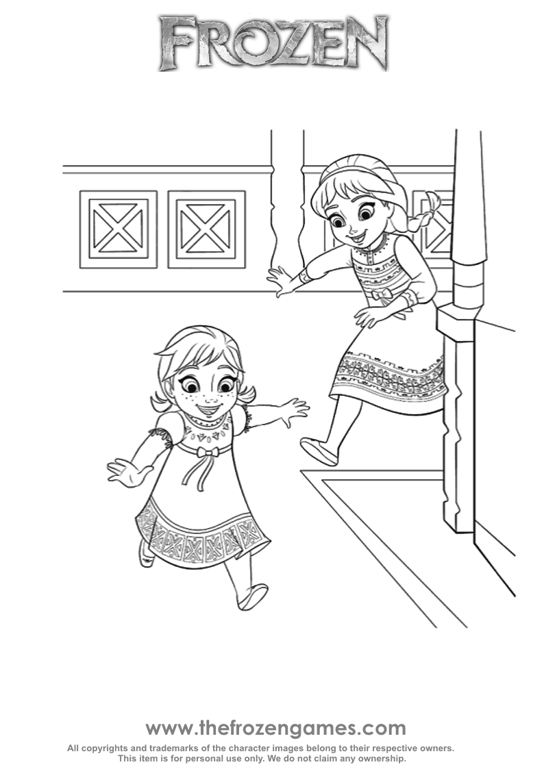 coloring sheets elsa and anna elsa and anna coloring pages printable at getdrawings sheets and elsa coloring anna