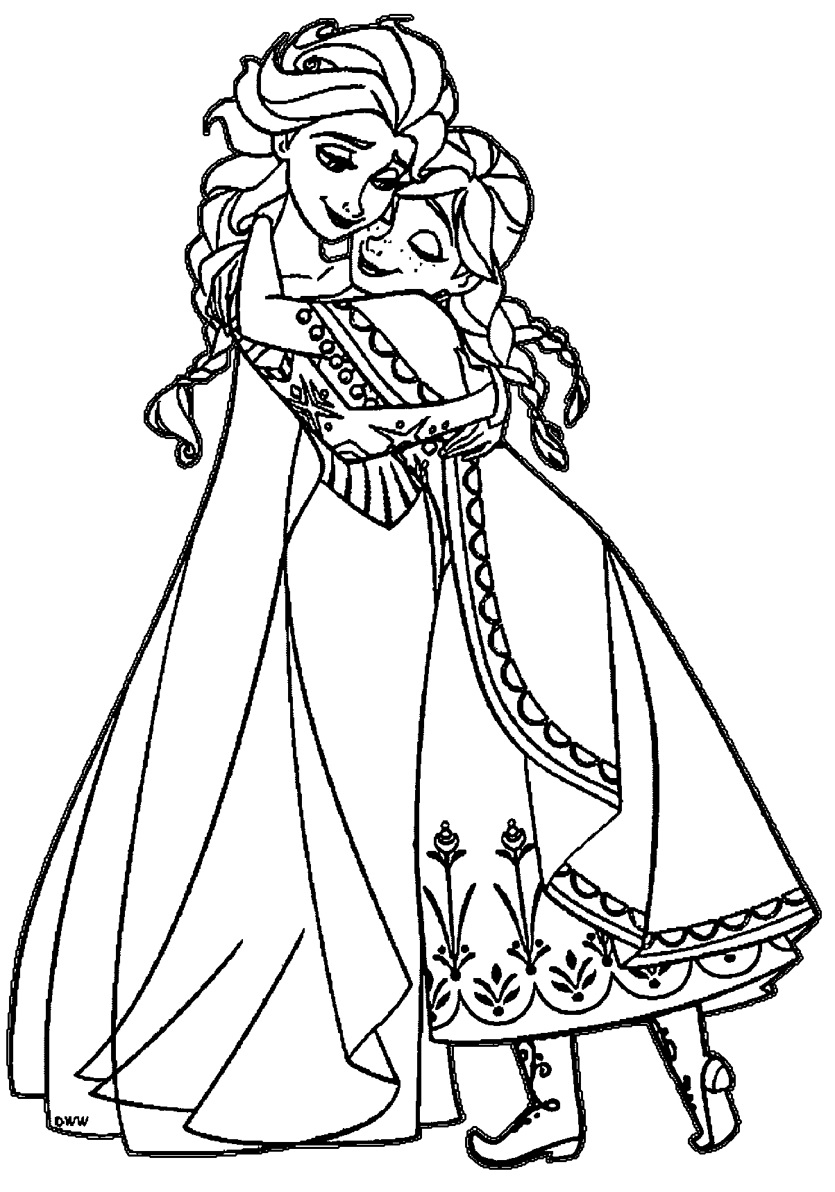 coloring sheets elsa and anna mewarnai putri elsa gambar mewarnai hd and coloring sheets anna elsa