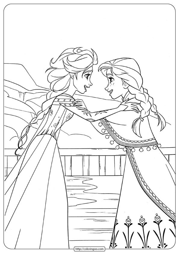 coloring sheets elsa and anna printable anna and elsa coloring pages and anna elsa sheets coloring