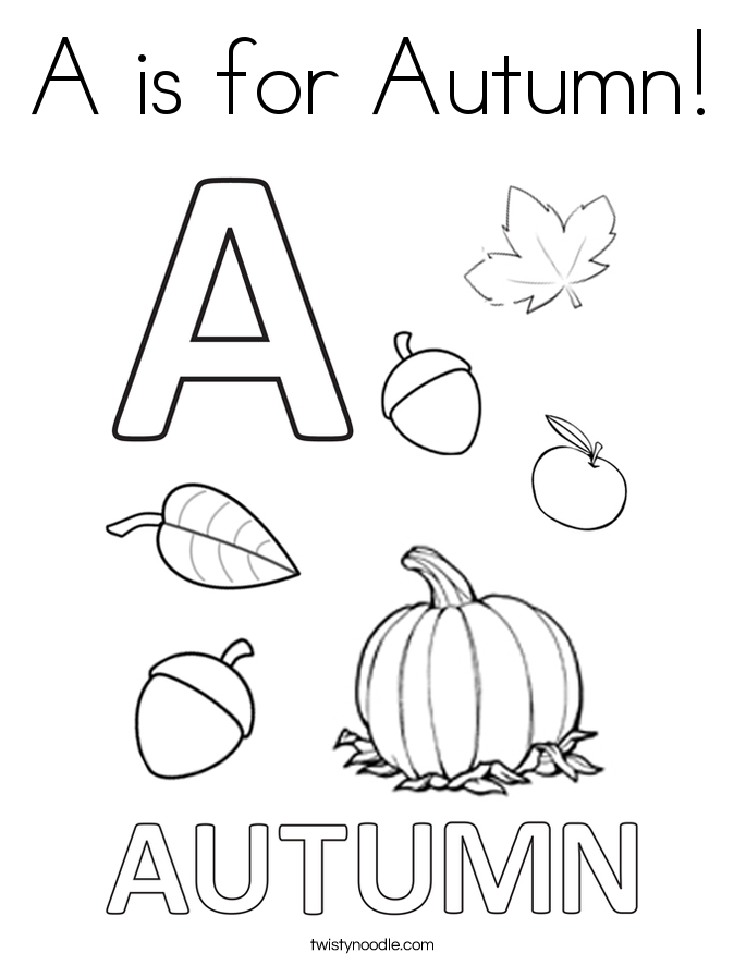 coloring sheets kindergarten fall autumn coloring pages with pumpkin for kids seasons sheets coloring kindergarten fall