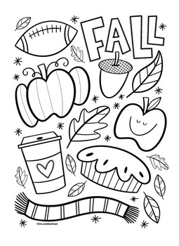 coloring sheets kindergarten fall fall coloring sheet by mrs arnolds art room teachers pay kindergarten coloring sheets fall