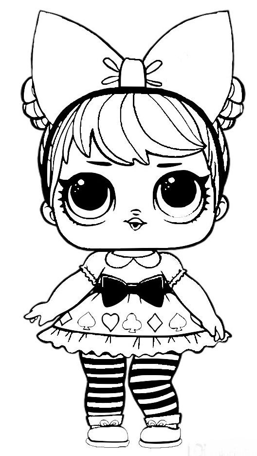 coloring sheets lol lol surprise dolls coloring pages print them for free sheets coloring lol 1 2