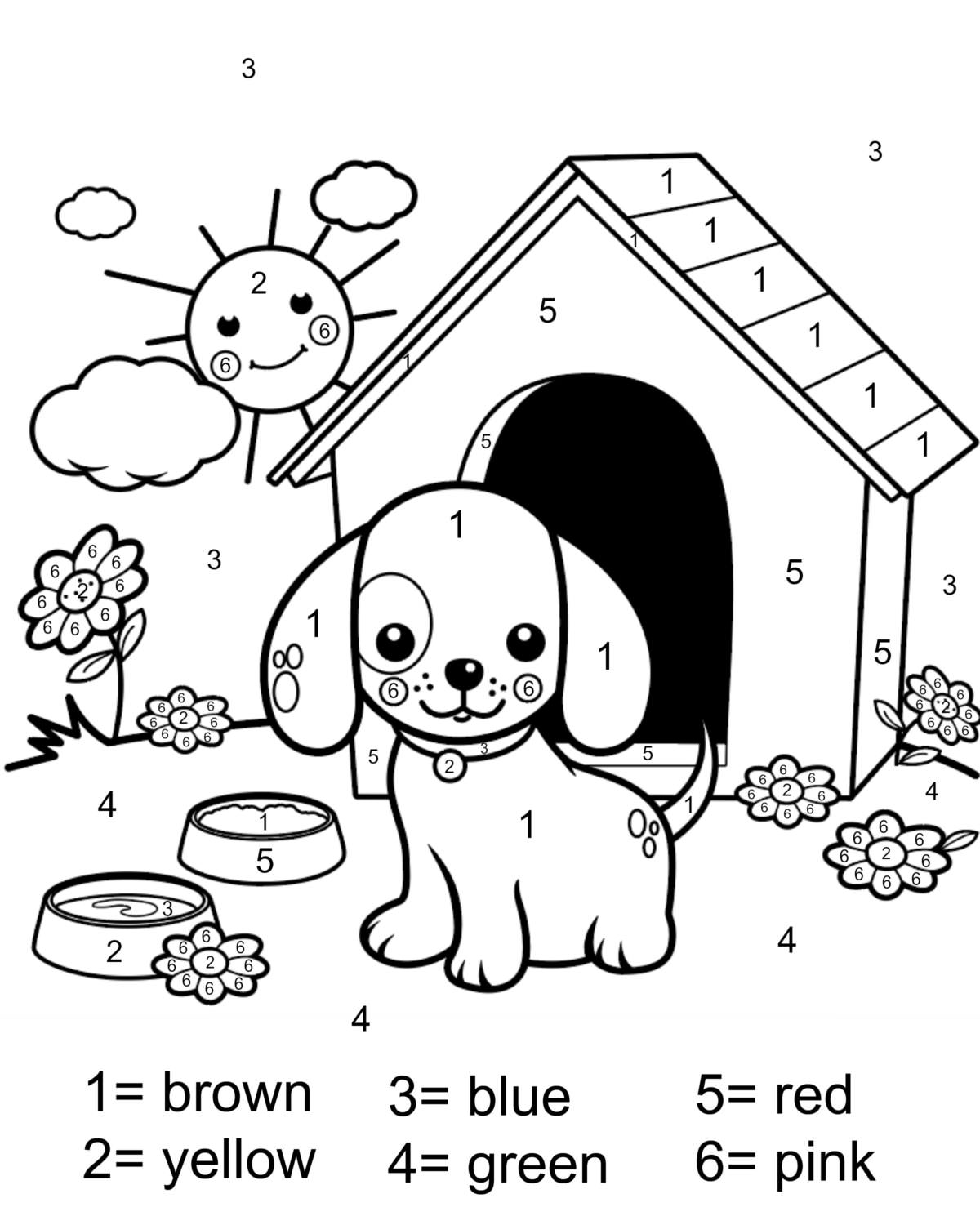 coloring sheets with numbers free printable color by number coloring pages best coloring numbers sheets with