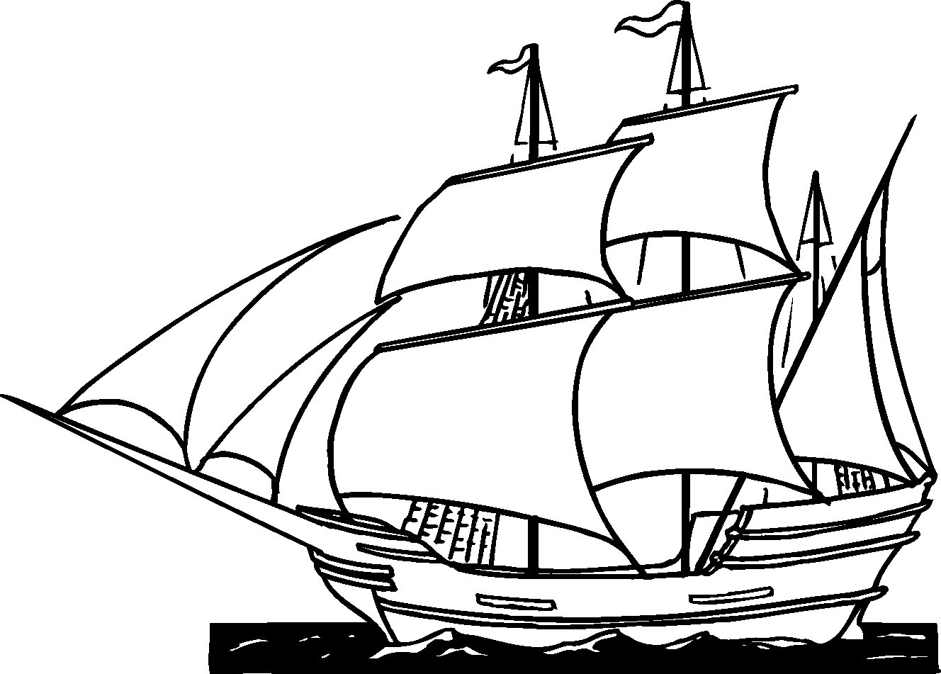coloring ship drawing simple pirate ship drawing sketch coloring page drawing coloring ship