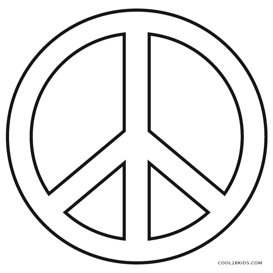 coloring sign colorable peace sign design free clip art coloring sign