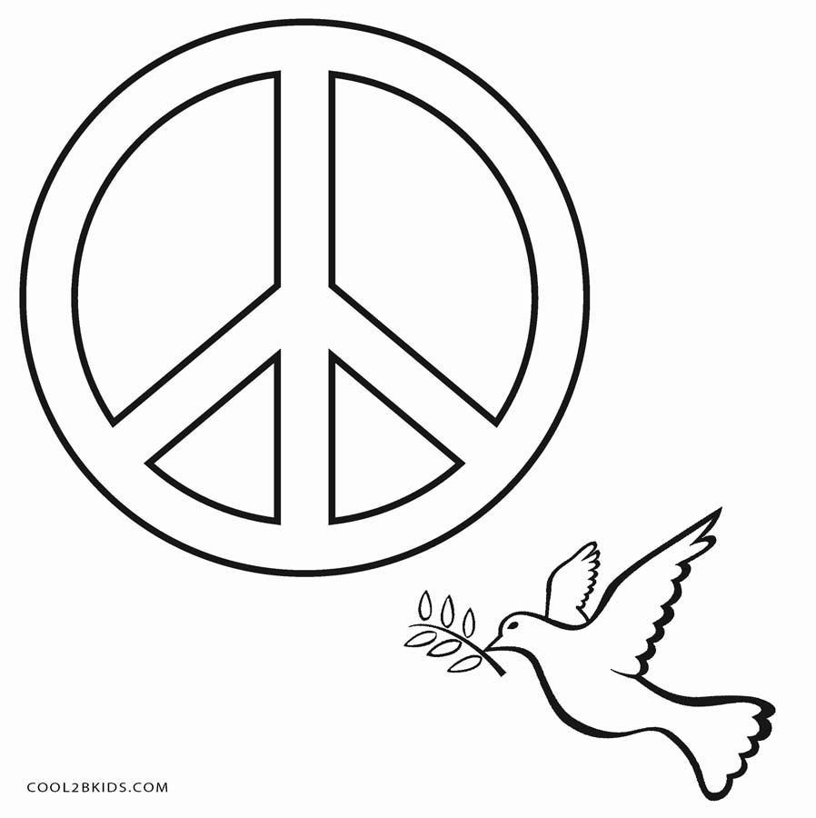 coloring sign free printable peace sign coloring pages sign coloring