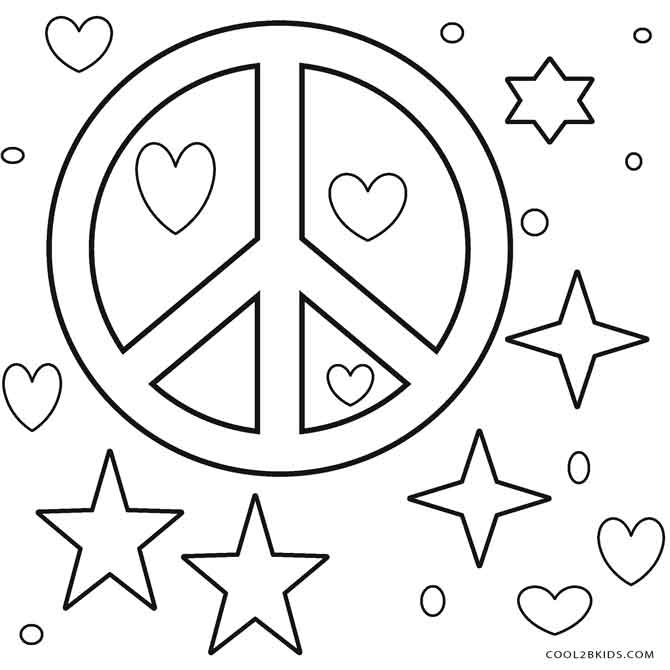 coloring sign free printable peace sign coloring pages sign coloring 1 1