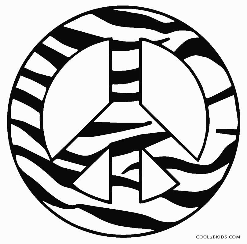 coloring sign free printable peace sign coloring pages sign coloring 1 2