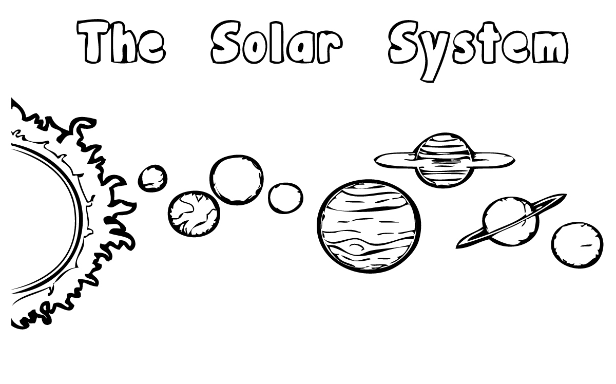 coloring solar system printables solar system coloring pages free printable solar system solar printables coloring system