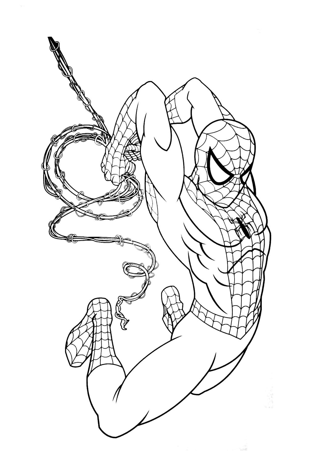 coloring spiderman color spiderman coloring page download for free print coloring spiderman color