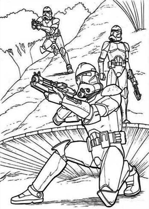 coloring star wars clone clone trooper drawing at getdrawings free download wars star coloring clone