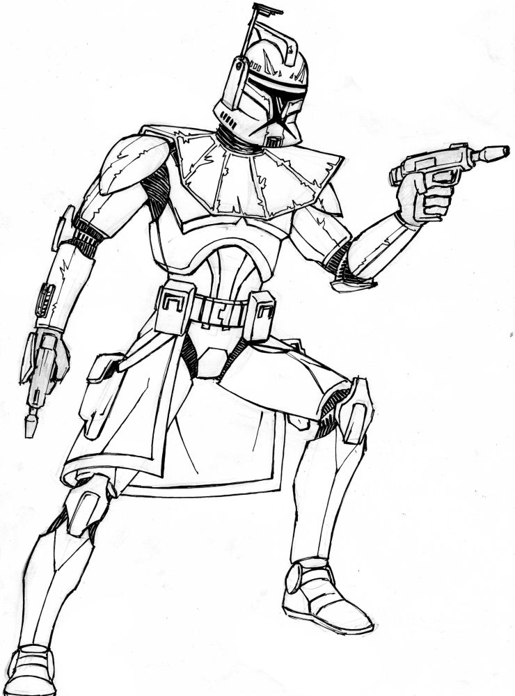 coloring star wars clone free coloring pages captain rex coloring home star clone coloring wars