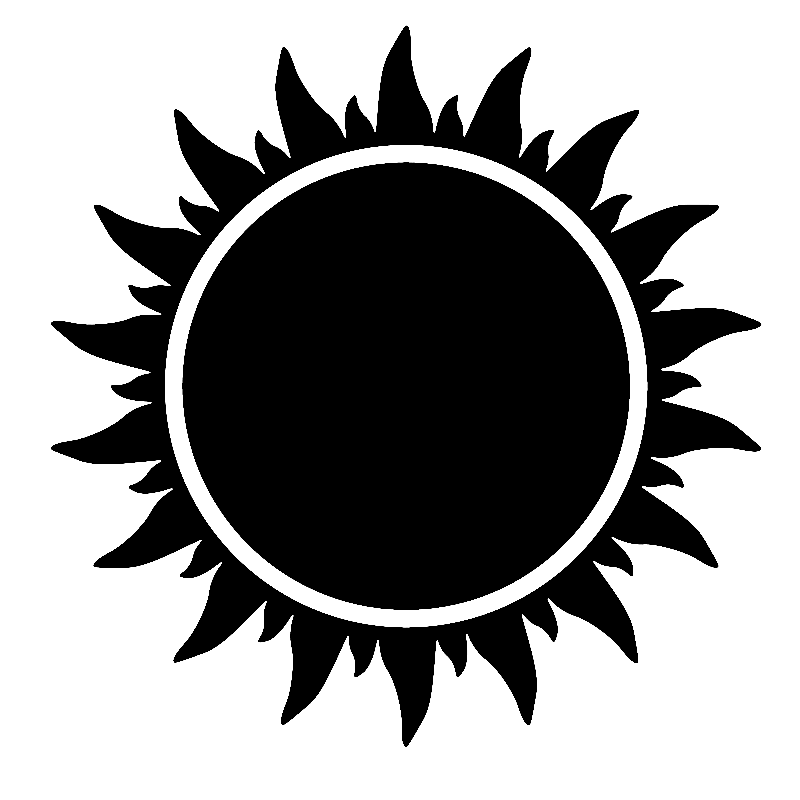 coloring sun clipart black and white best sun clipart black and white 1807 clipartioncom and white coloring black sun clipart