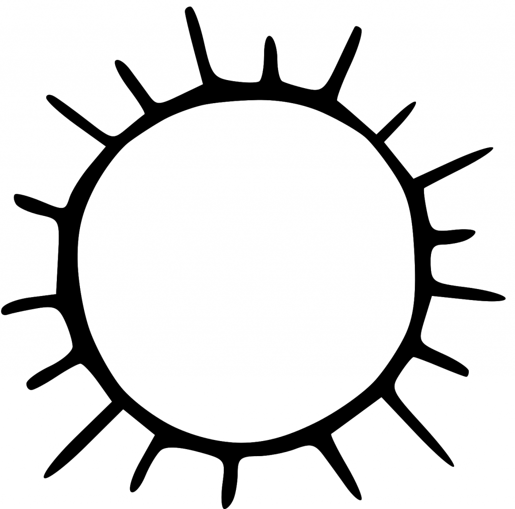coloring sun clipart black and white best sun clipart black and white 1824 clipartioncom black clipart and coloring sun white