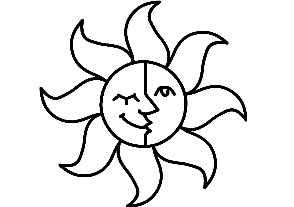 coloring sun cute sun coloring page free coloring pages online sun coloring