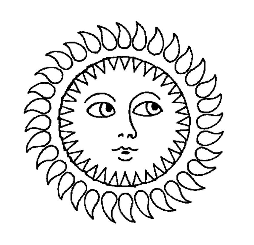 coloring sun free printable sun coloring pages for kids coloring sun 1 5
