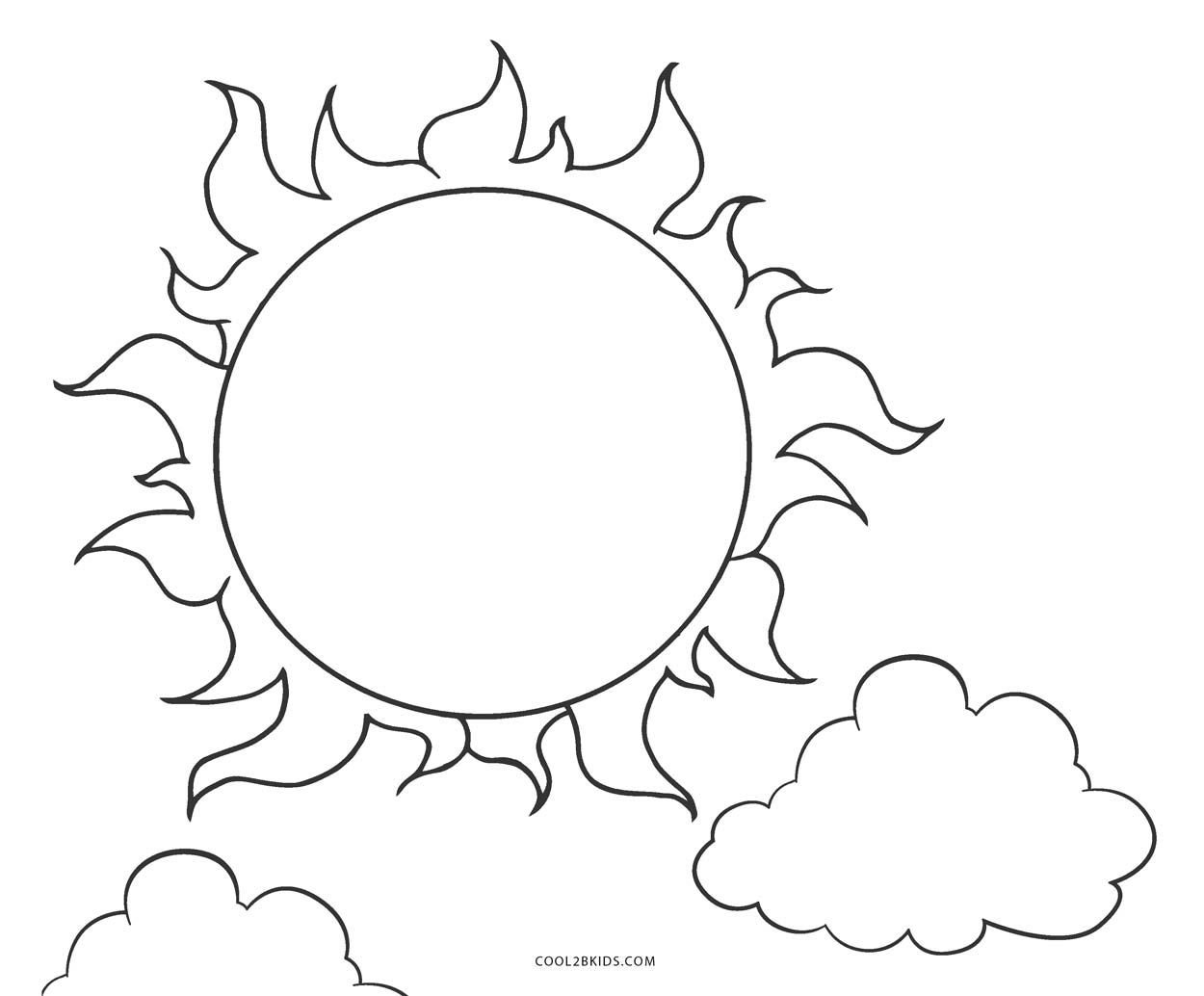 coloring sun miscellaneous coloring pages cool2bkids sun coloring