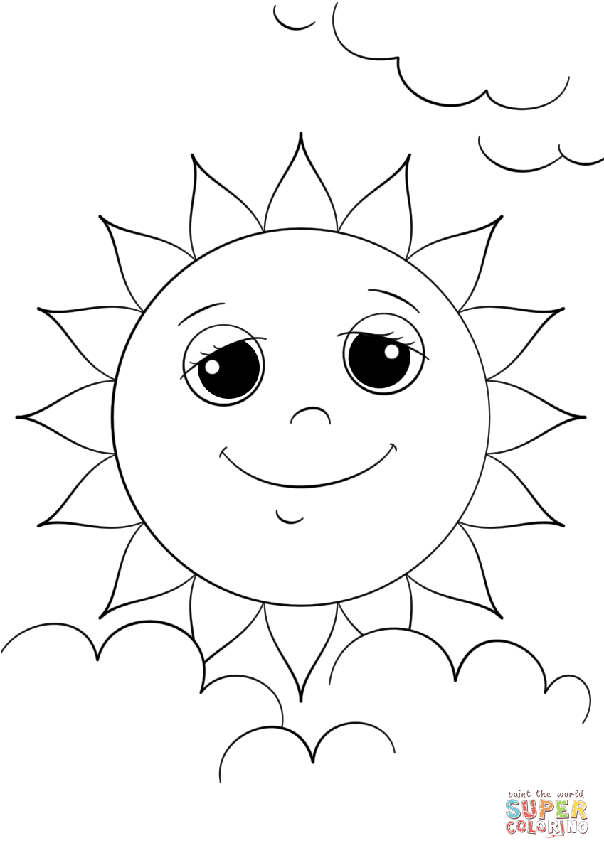 coloring sun sun coloring pages coloring pages to download and print sun coloring