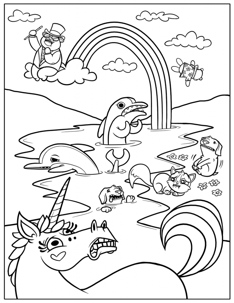 coloring template coloring for kids printable walrus coloring pages for kids kids coloring template for coloring