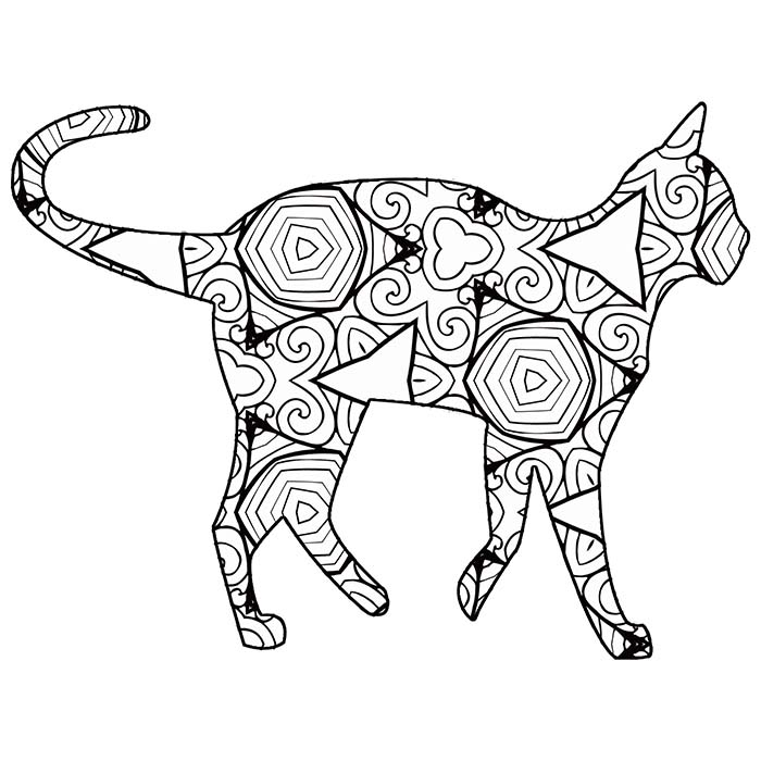 coloring templates animals 30 free printable geometric animal coloring pages the animals coloring templates