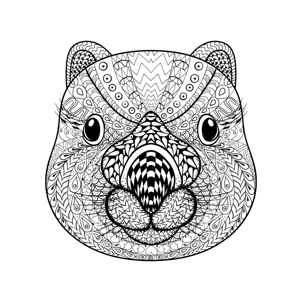 coloring templates animals adult coloring pages animals best coloring pages for kids templates animals coloring 1 1