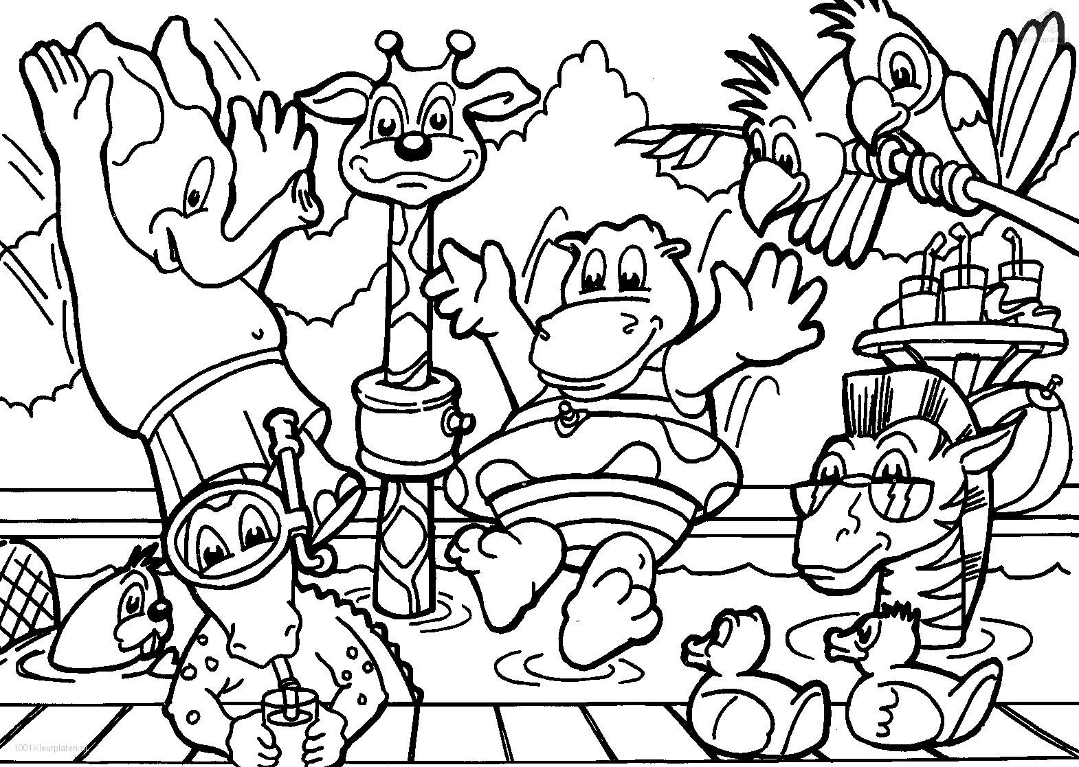 coloring the animal baby animals coloring pages to kids coloring animal the