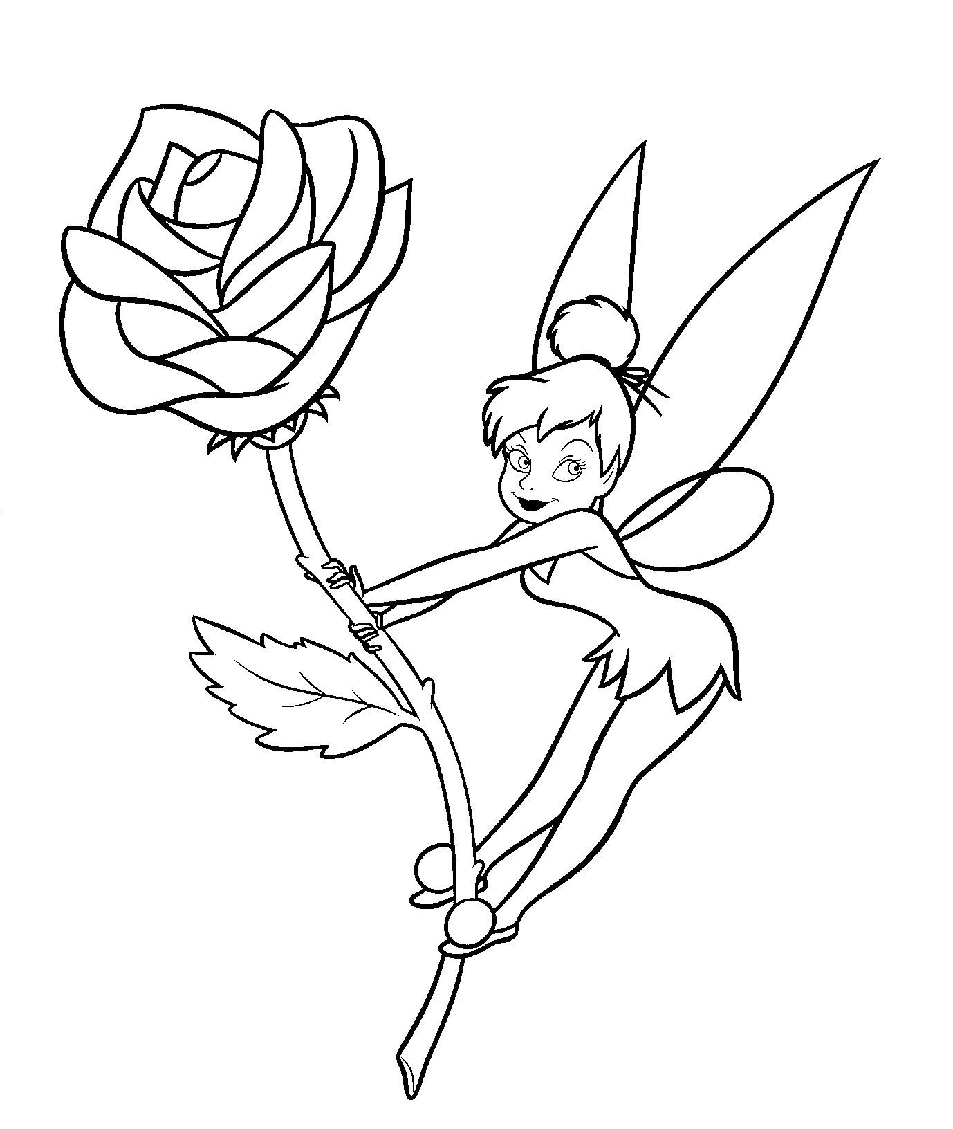 coloring tinkerbell cartoon coloring pages tinkerbell coloring pages and clip art cartoon coloring tinkerbell