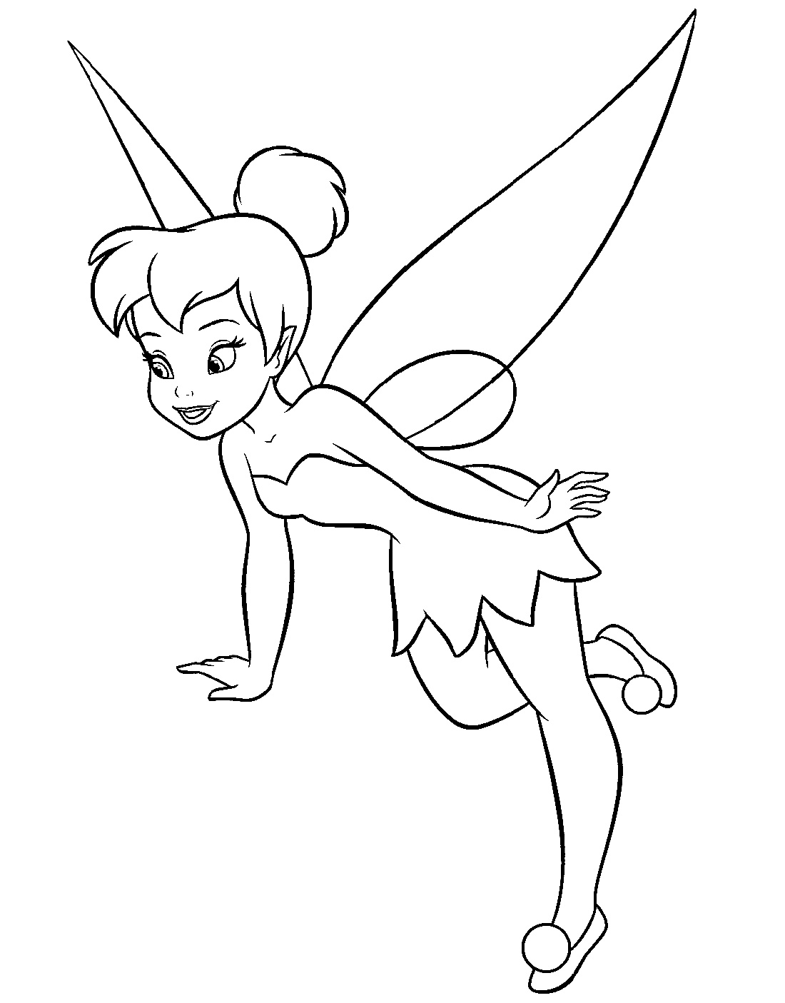 coloring tinkerbell cartoon tinkerbell cartoon  google search tinkerbell coloring tinkerbell coloring cartoon
