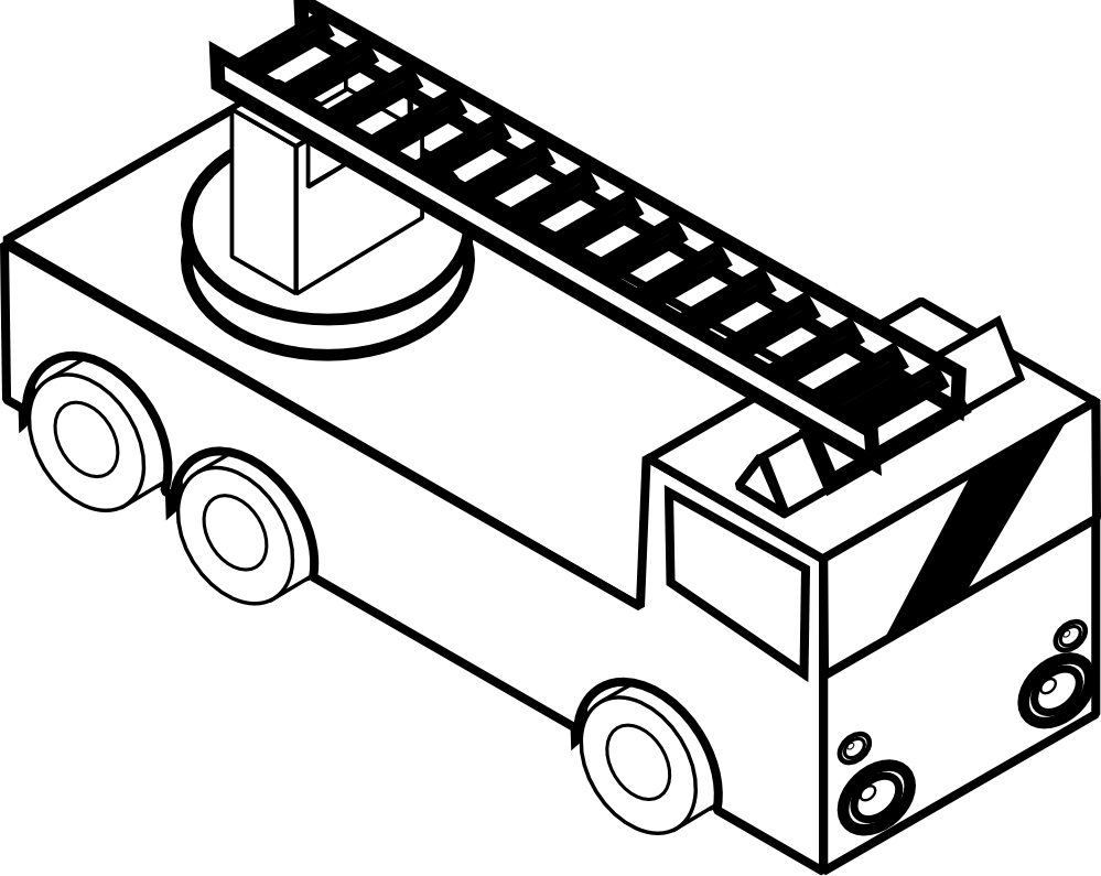 coloring truck clipart black and white delivery truck line art free clip art coloring and clipart truck white black