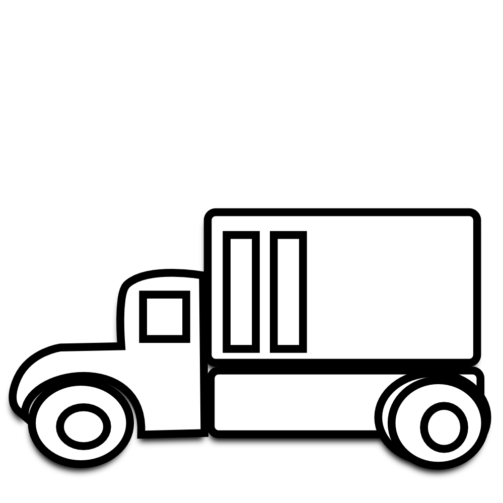 coloring truck clipart black and white dump truck coloring pages black coloring white truck and clipart