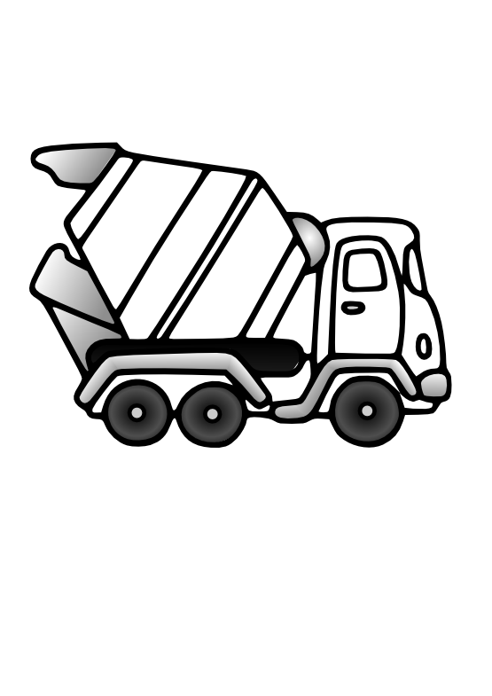 coloring truck clipart black and white dump truck coloring pages to download and print for free white clipart and coloring truck black