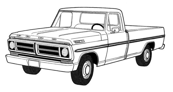 coloring truck clipart black and white logging truck clipart 20 free cliparts download images black clipart white and coloring truck