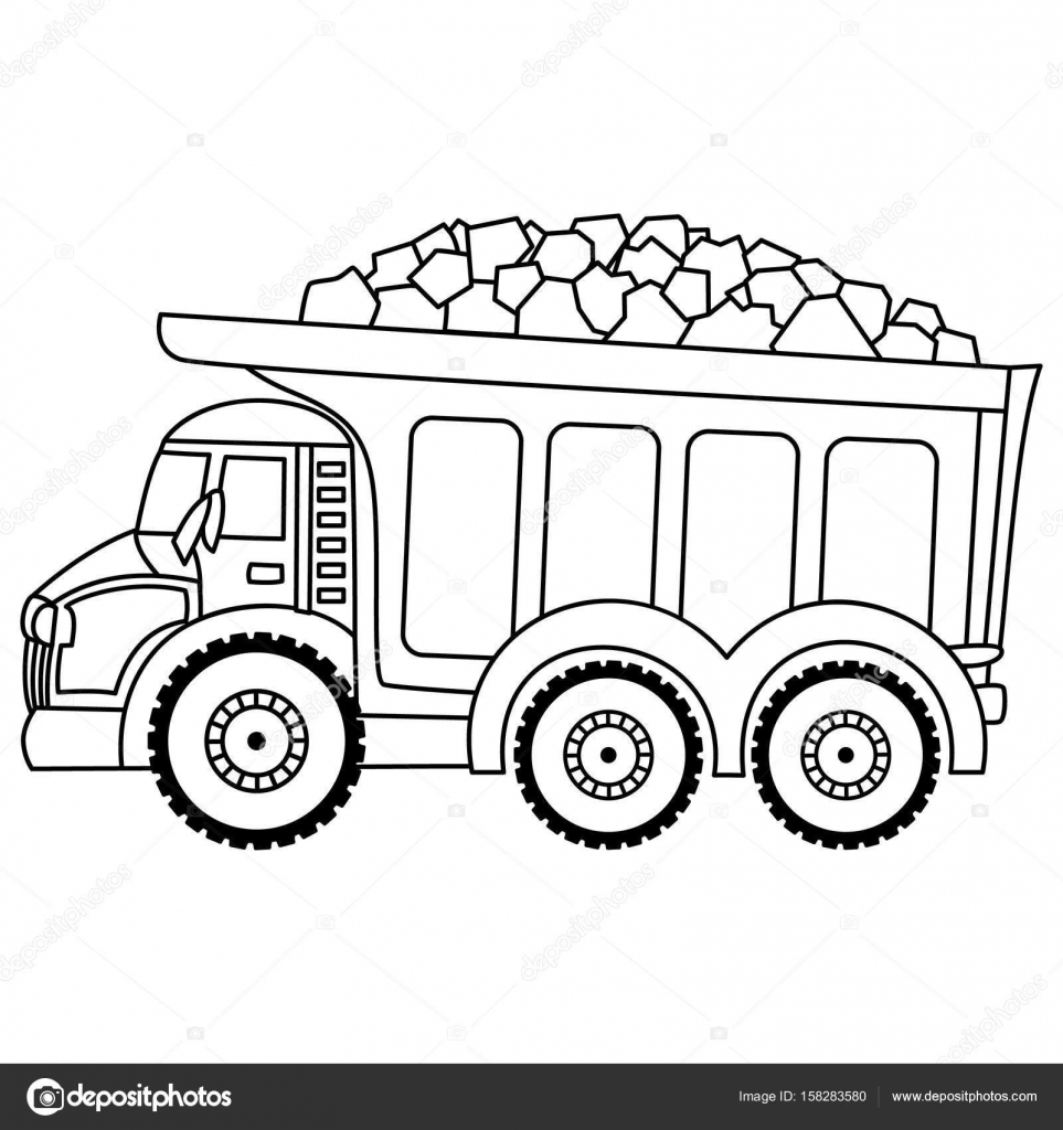 coloring truck clipart black and white monster truck coloring pages of cars and trucks images truck clipart white and coloring black