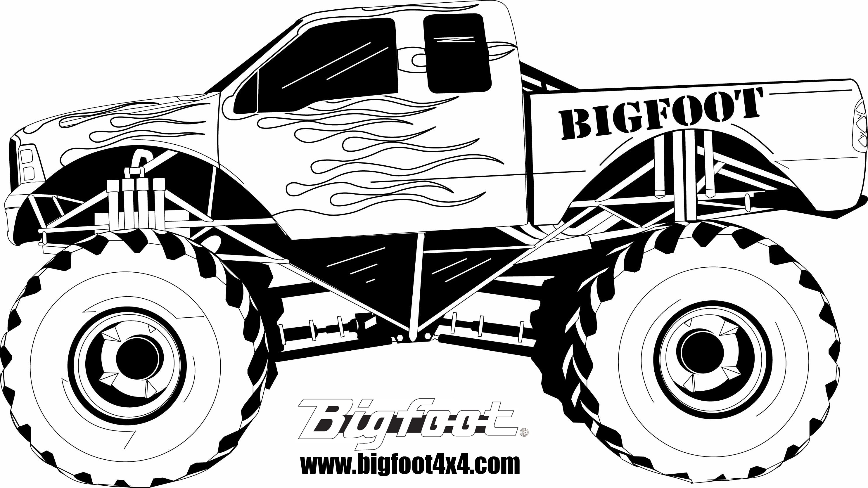 coloring truck clipart black and white pickup truck truck clipart to download dbclipart image 39258 black truck and coloring clipart white
