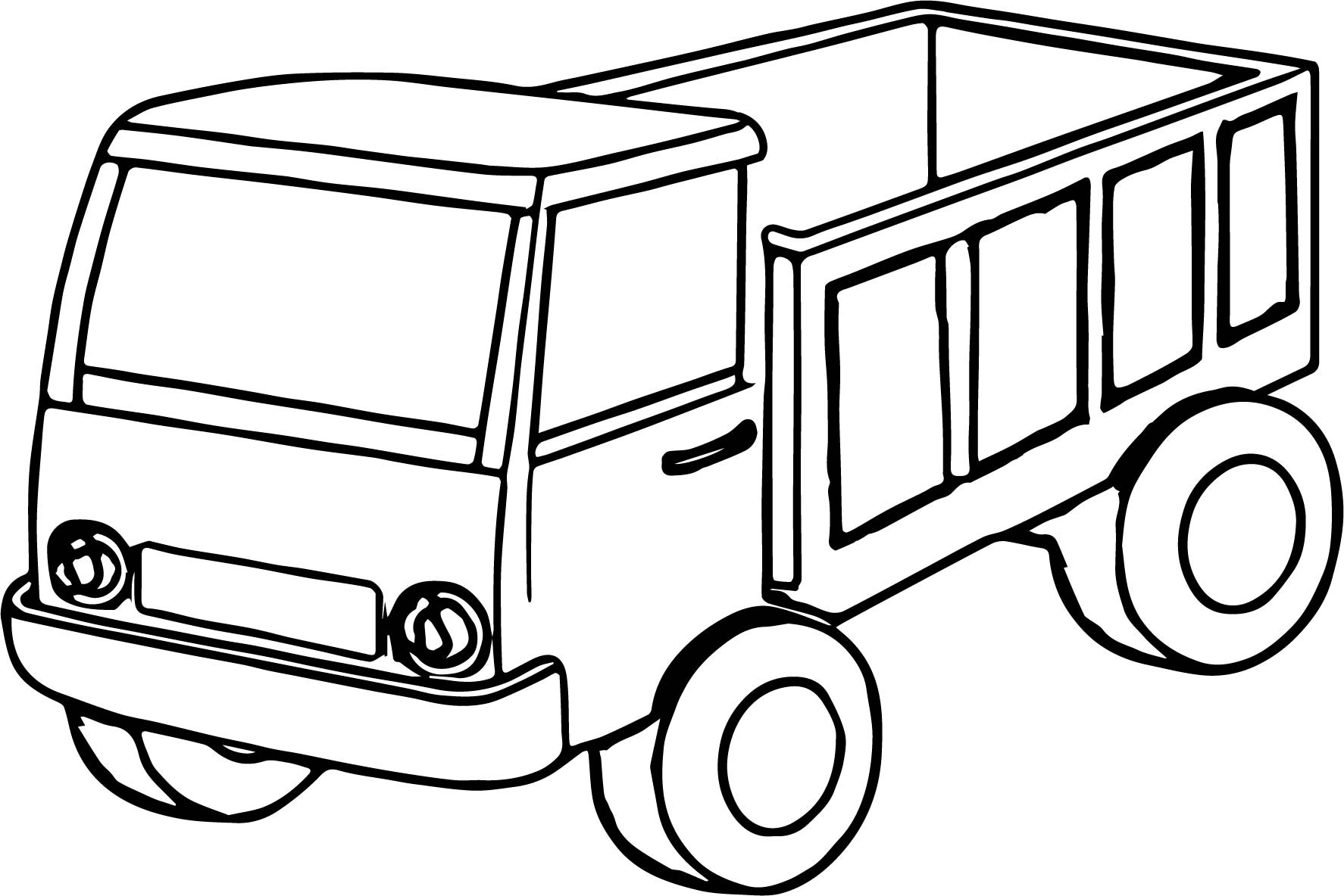 coloring truck pictures 40 free printable truck coloring pages download truck pictures coloring