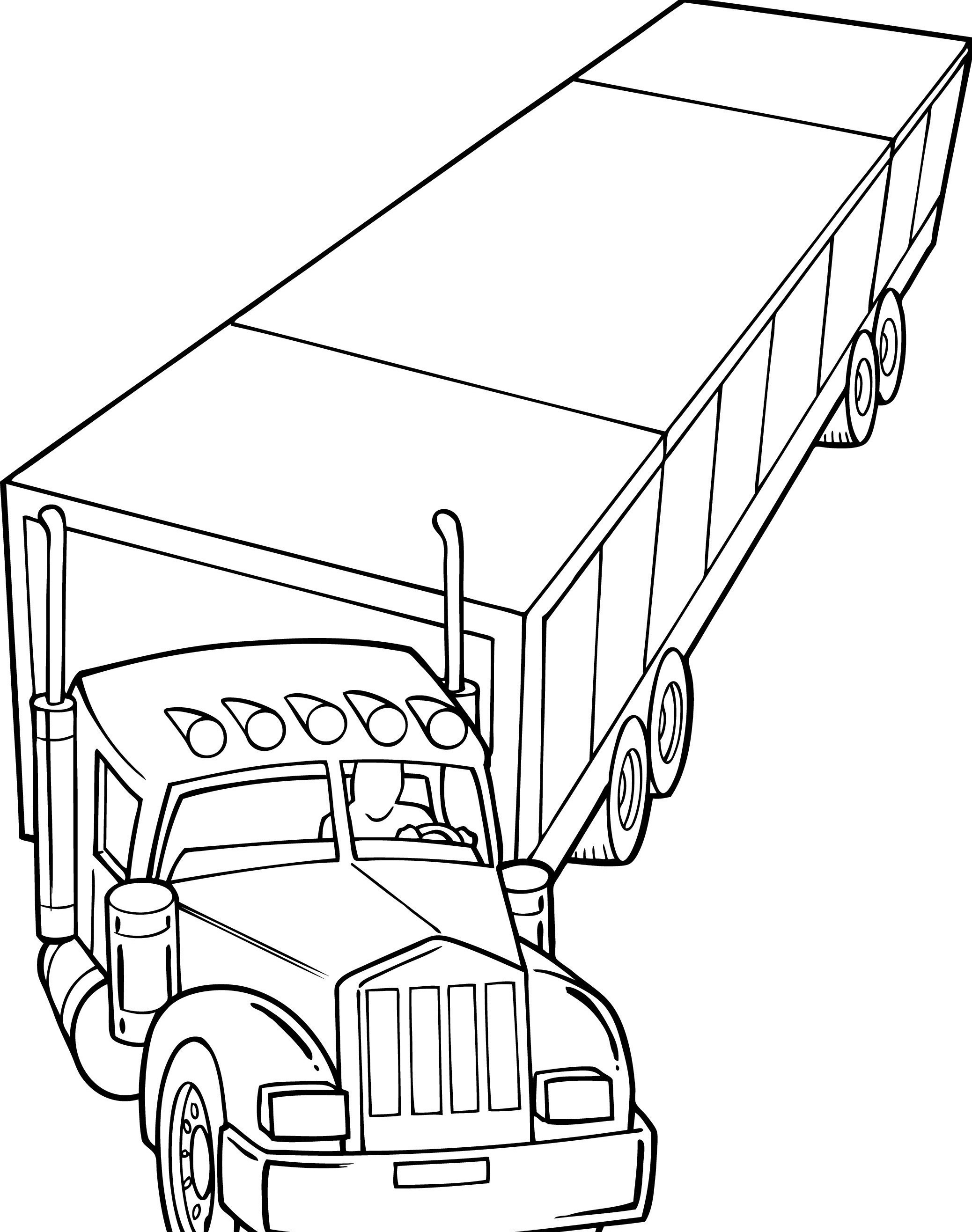 coloring truck pictures police truck coloring pages at getdrawings free download truck pictures coloring