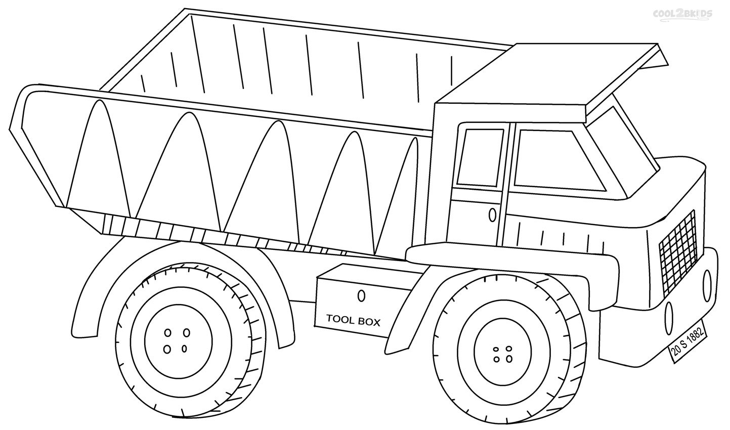 coloring truck pictures truck coloring pages free download on clipartmag pictures truck coloring