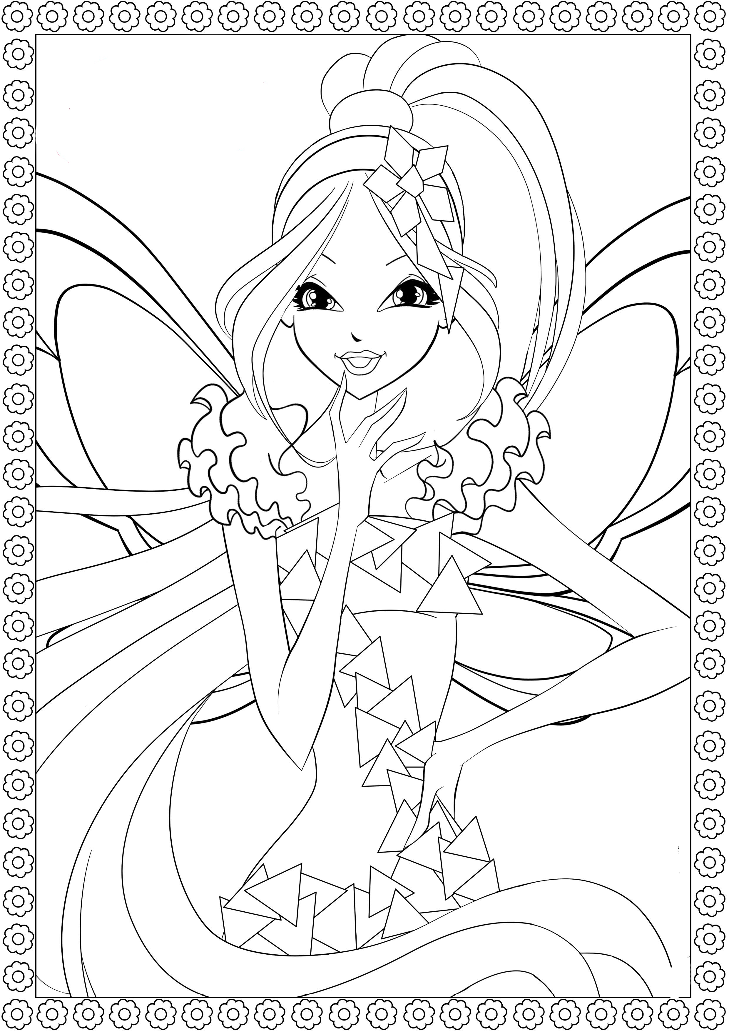 coloring winx club colouring pages the winx club fan art 23364740 fanpop club coloring winx