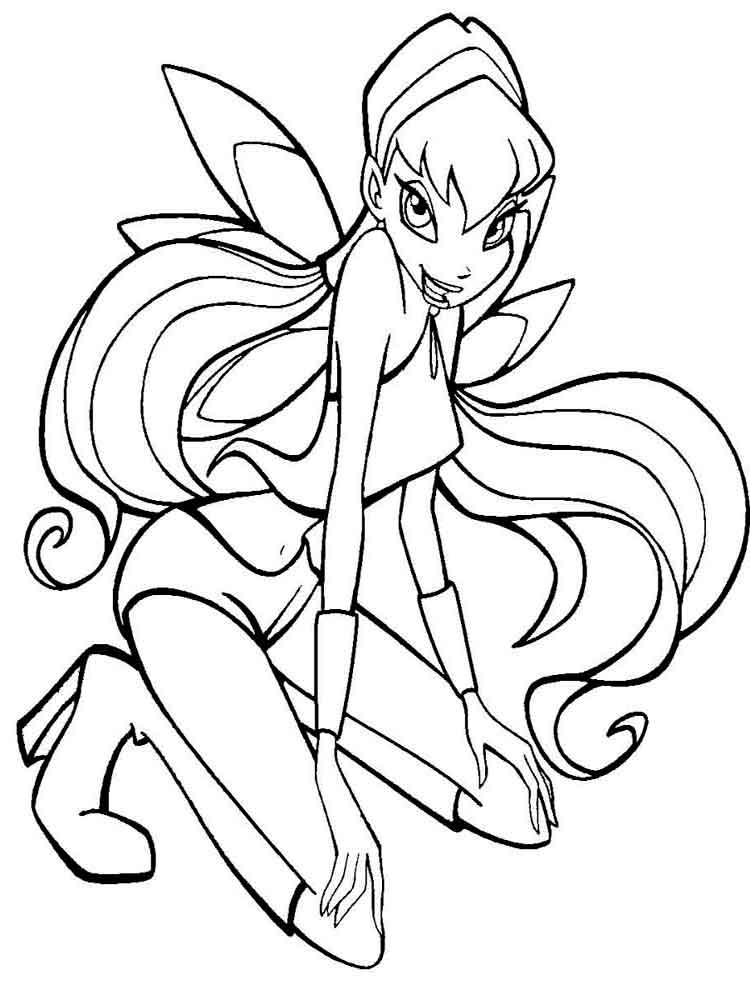 coloring winx club winx club coloring pages club winx coloring