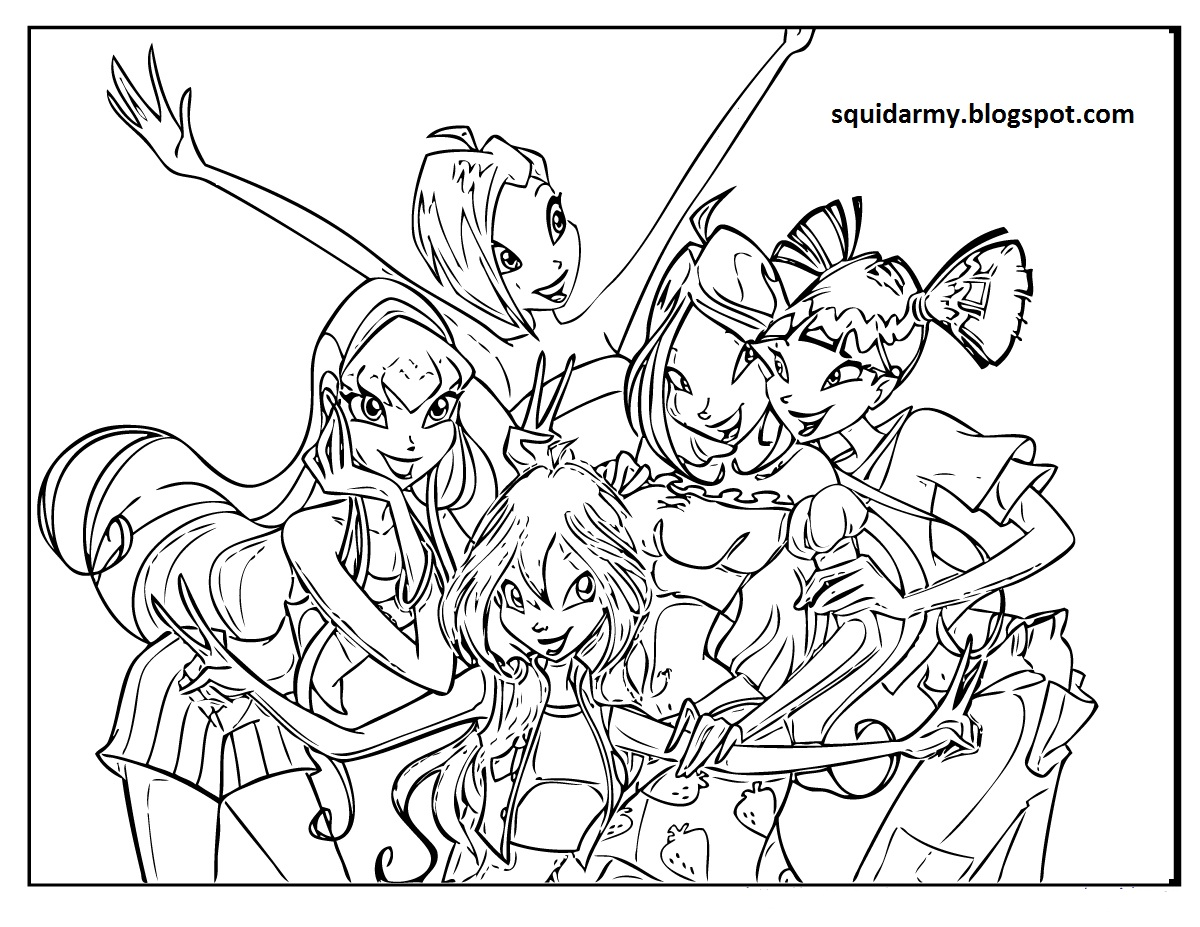 coloring winx club winx club coloring pages coloring club winx