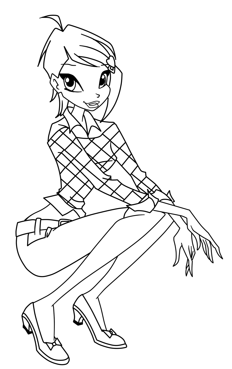 coloring winx club winx tynix coloring pages to download and print for free winx club coloring