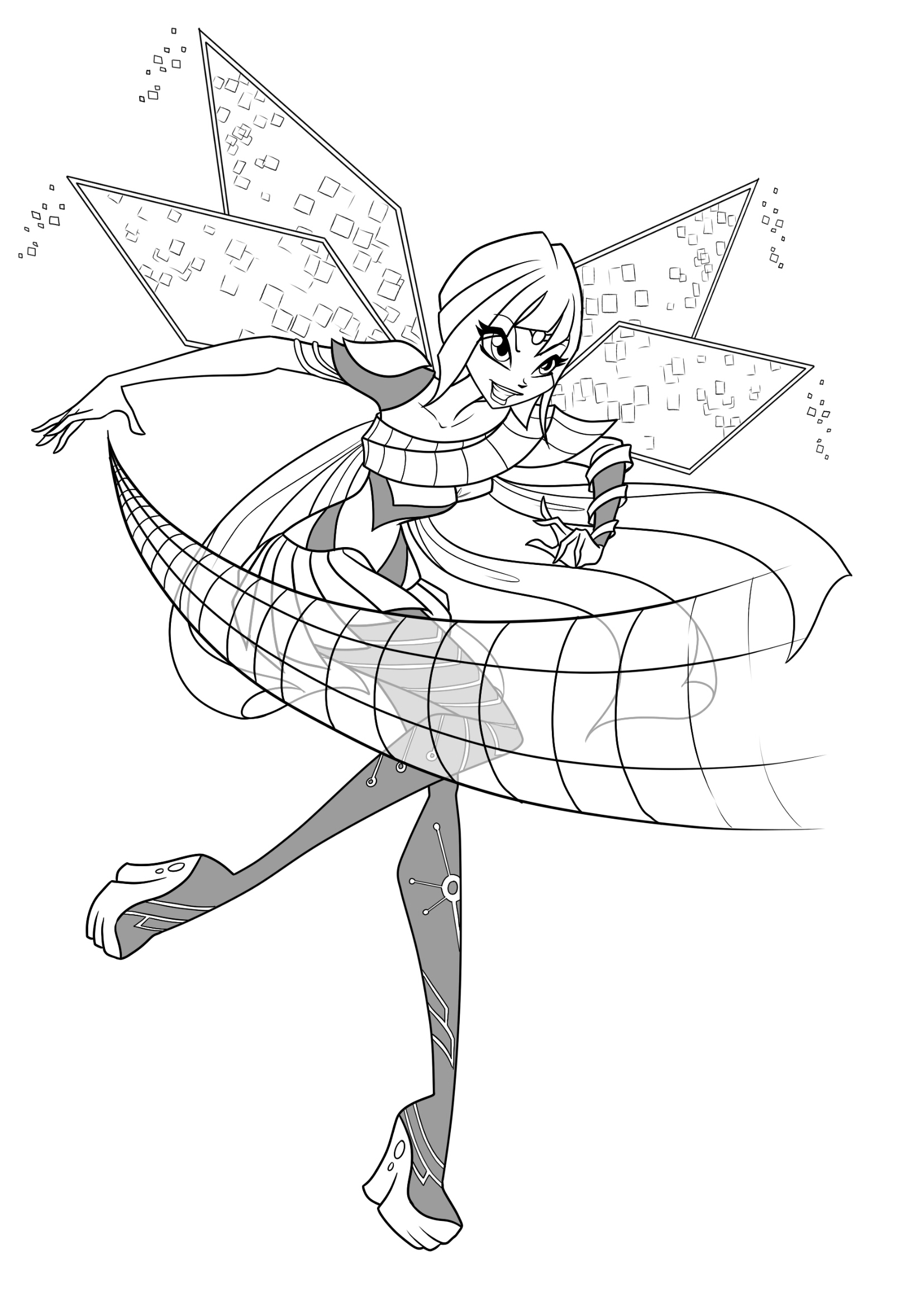 coloring winx club world of winx coloring pages casual outfit club coloring winx