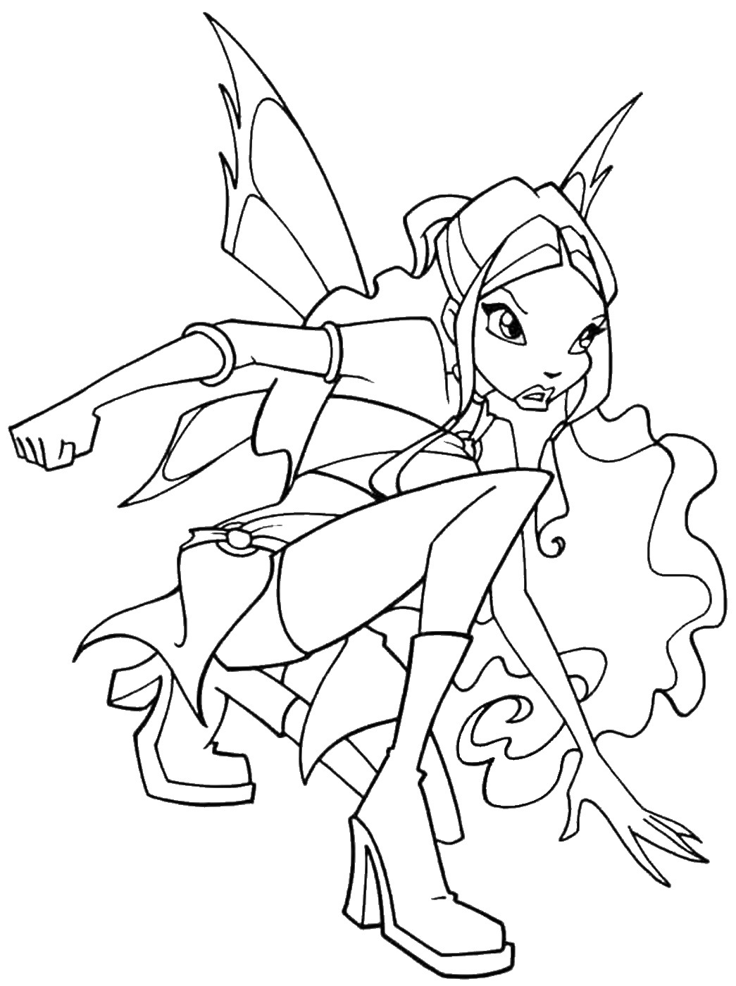 coloring winx club world of winx coloring pages casual outfit winx club all winx club coloring