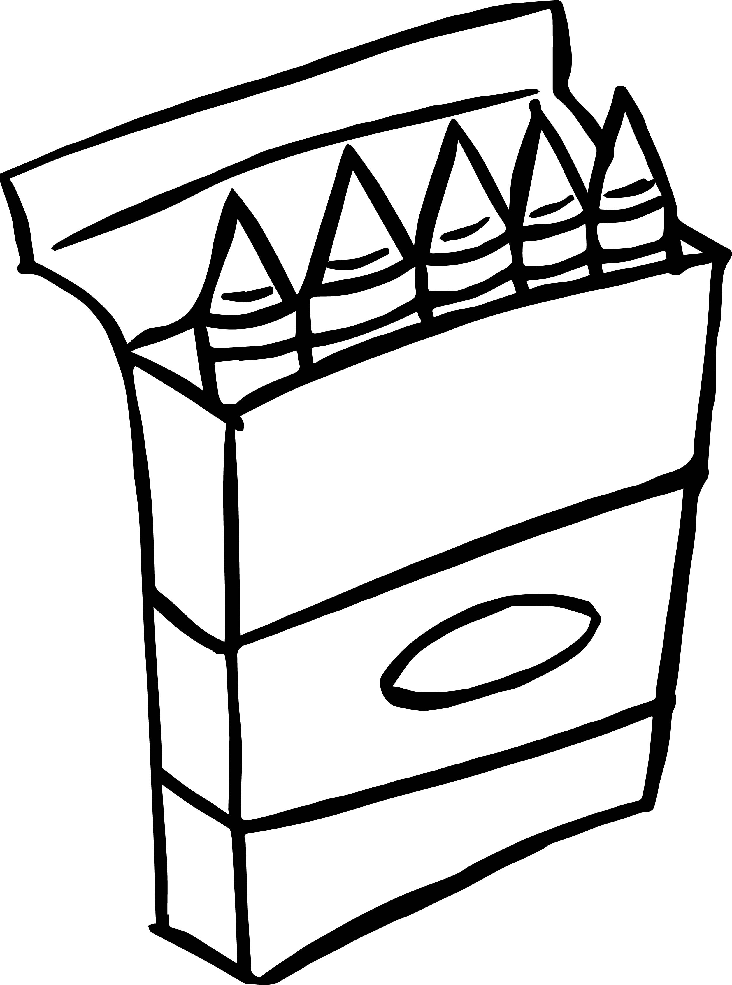 coloring with crayons three crayons to color coloring page coloring crayons with